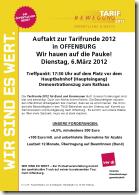 tarifrunde 2012