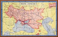 мапа украïни