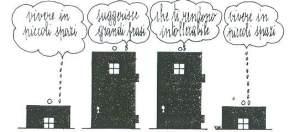 1) Leben auf kleinem Raum 2) kreiert große Worte 3) die dich unerträglich machen 4) Leben auf kleinem Raum